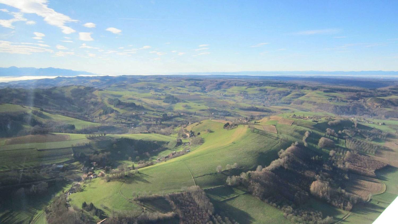 Les collines autour de St-Etienne-de-St-Geoirs