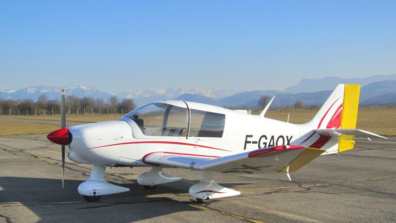 F-GAOX, le DR400-140B de l'AGIR